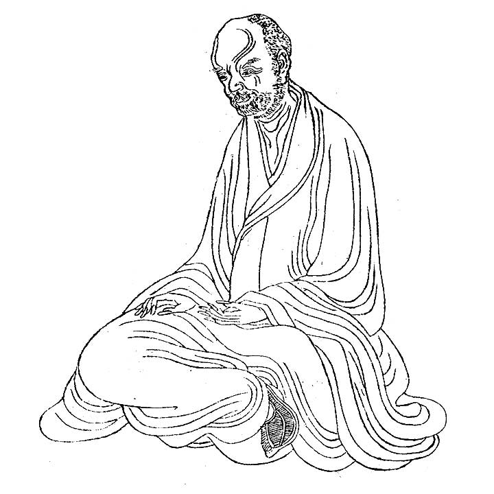 Hui Yuan(慧遠)was a hierarch of the Chinese Buddhism in the Eastern Jìn Dynasty(東晋)